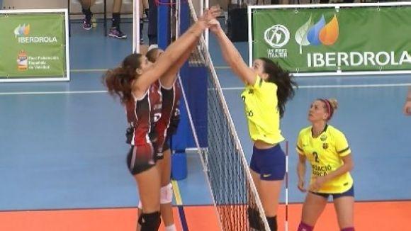 El DSV-Voleibol Sant Cugat desaprofita un 0 a 2 i acaba caient a Elx