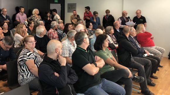 La seguretat, la brutícia de l'espai públic i la normativa de terrasses, a l'audiència pública