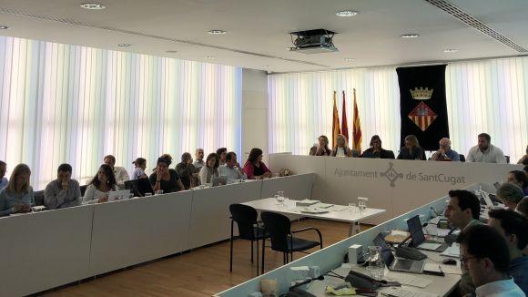 El ple rebutja la moció de Cs que instava condemnar la violència a Catalunya