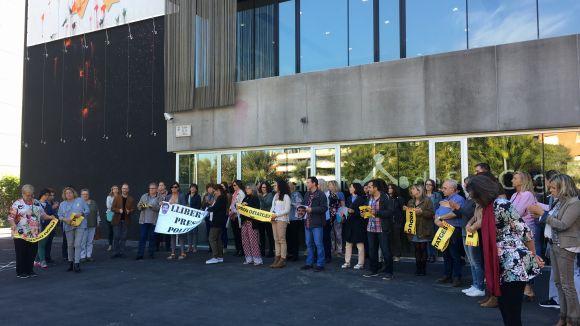 L'ADIC recorda els 'Jordis', a presó provisional des de fa un any