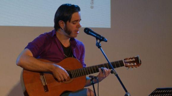Arnau Tordera uneix música i poesia al Teatre-Auditori