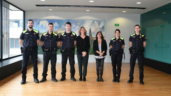Sant Cugat s'acosta als 100 agents de la Policia Local amb cinc noves incorporacions