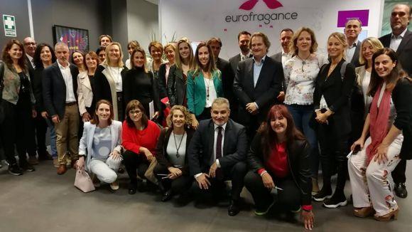 Sant Cugat Empresarial fa parada a Eurofragance en la seva ronda de 'portes obertes'