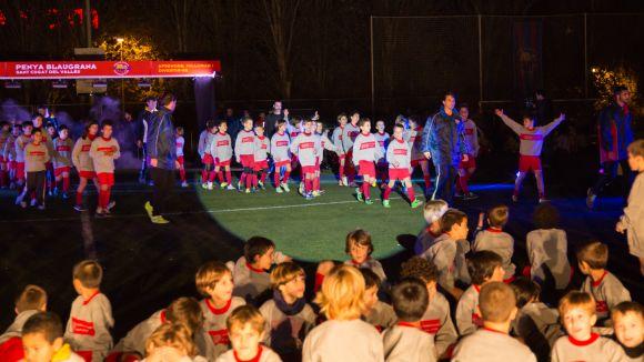 Imatge d'una presentació anterior / Foto: Penya Blaugrana Sant Cugat