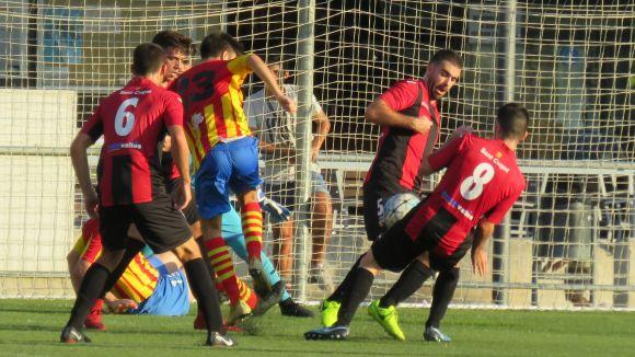 Imatge d'un partit del SantCu d'aquesta temporada