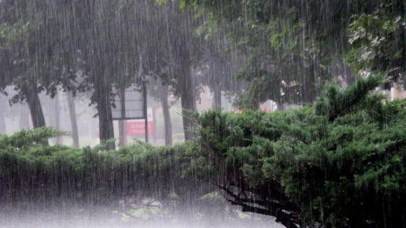 Sant Cugat manté la prealerta per fortes pluges