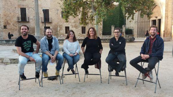 D'esquerra a dreta, Rosés, Pros, Llorente, Gibert, Ontañón i Simarro