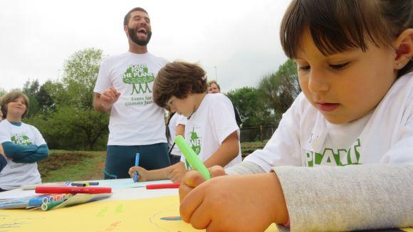Infants santcugatencs es converteixen en 'ambaixadors' del canvi climàtic