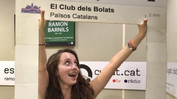 La cantant Chloe Phillips presenta 'Barcelona' a 'El Club dels Bolats'