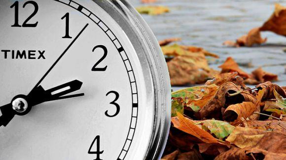 Torna l'horari d'hivern: a les tres de la matinada seran les dues