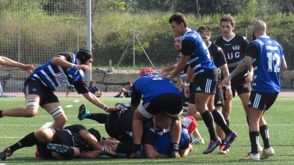 El Rugby Sant Cugat tanca l'any a casa davant el Tecnidex Valencia