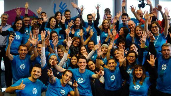 La cara més solidària d'HP, de manifest al 13è Charity Day