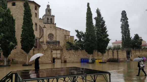 Risc de pluja intensa a Sant Cugat