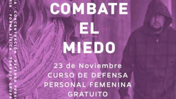 La Policia Local i el gimnàs Mugendo ofereixen un taller de defensa personal per a dones