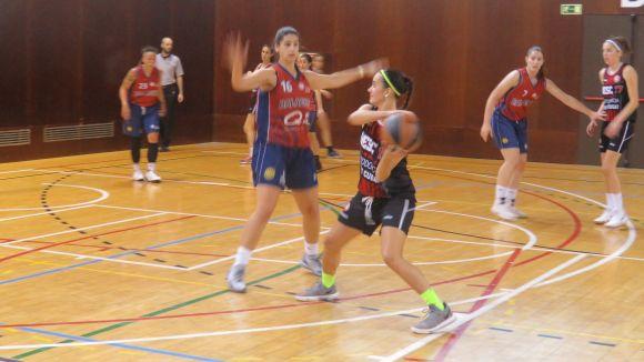 Imatge d'un partit de la UESC d'aquesta temporada / Foto: Cugat.cat