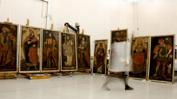 El CRBMC restaura un sèrie de pintures única a Europa