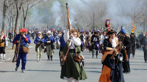 Imatge de la 9a trobada de dones Trabucaires a Sant Cugat / Foto: Localpres