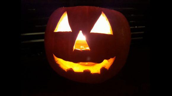 Una carabassa de Halloween / Foto: Pau Vázquez