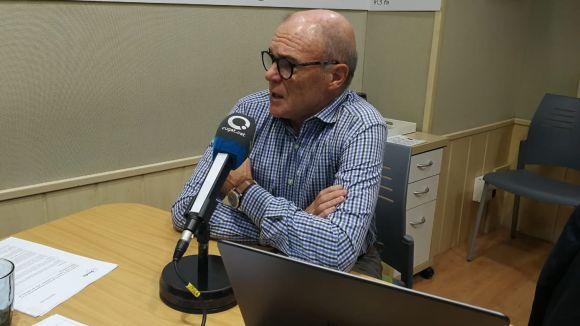 Ramon Palacio ha visitat el 'Sant Cugat a fons'