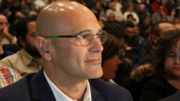 L'exconseller Raül Romeva és investigat juntament als altres exmembres del Govern / Foto: ACN
