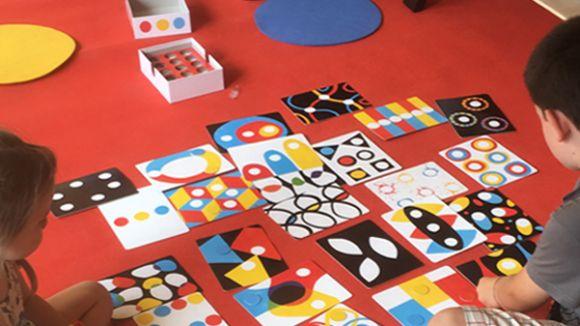 El joc, clau en l'aprenentatge de la canalla / Foto: Institut de la Infància
