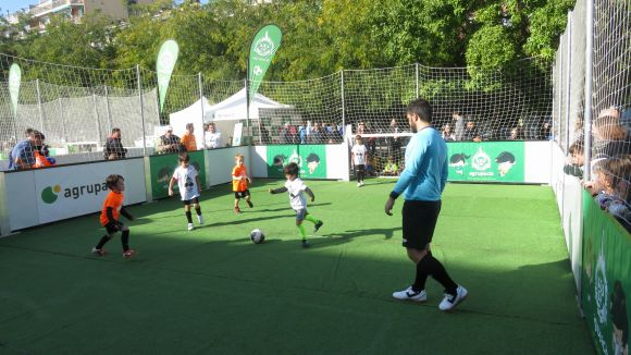 Gran èxit de participació al torneig de futbol infantil Agrupaciócup3x3