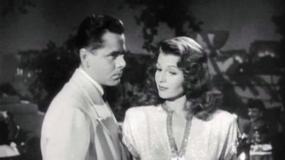 Rita Hayworth amb Glenn Ford a 'Gilda' / Foto: Domini Públic