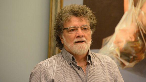 El pintor Lluís Ribas / Foto: Localpres