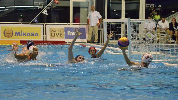 El partit entre Espanya i Israel es va disputar al CAR / Foto: RFEN