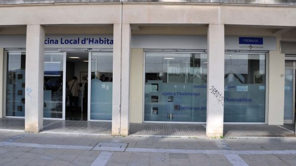 L'Oficina Local d'Habitatge es troba al número 10 del carrer d'Elies Rogent / Foto: Localpres