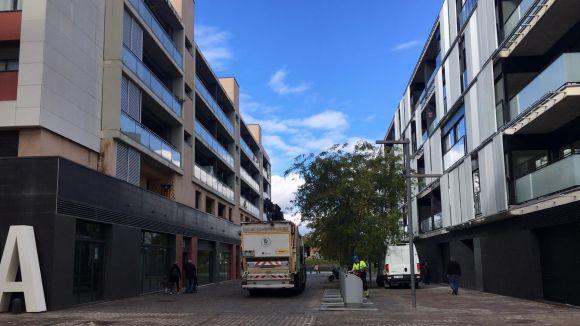Ocupen quatre pisos al barri de Volpelleres propietat de Banc Sabadell