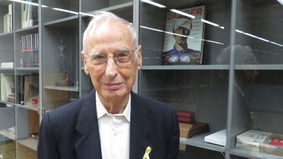 Raguer va fer 90 anys a l'agost / Foto: Cugat.cat