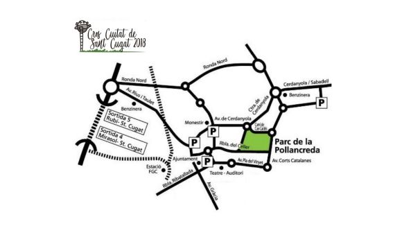 Afectacions al trànsit pel 20è Cros Ciutat de Sant Cugat