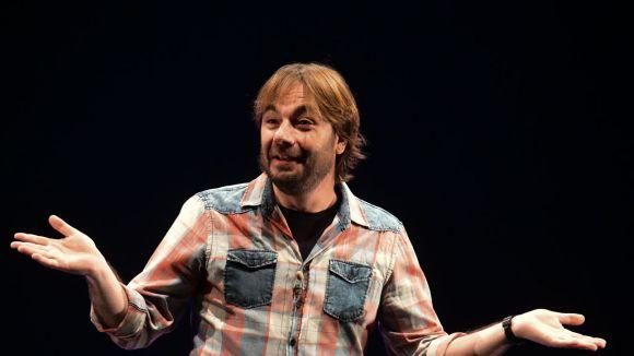 Quim Masferrer emociona el públic del Teatre-Auditori amb les històries de 'Bona gent'