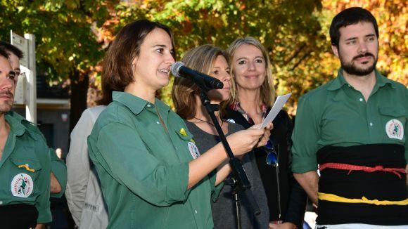 Gemma Aristoy deixarà la presidència dels Castellers de Sant Cugat