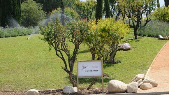 Sant Cugat promociona el rec eficient / Foto: Localpres