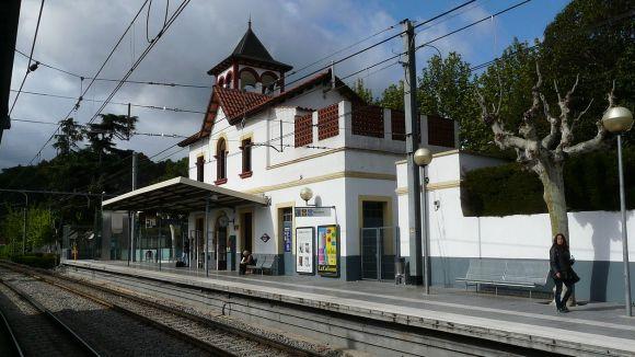 L'estació de Valldoreix va canviar la història del territori / Foto: Pere López - CC-BY