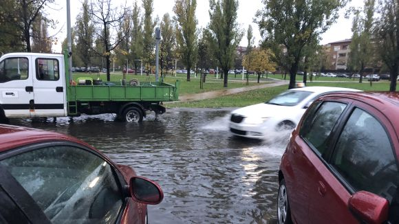Sant Cugat registra una quarantena de sortides de Bombers arran de les pluges