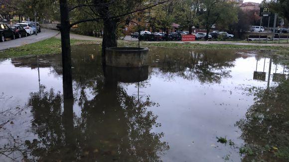 La pluja ha provocat inundacions / Foto: Cugat.cat