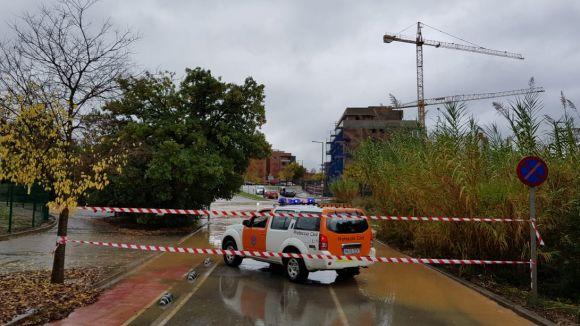 Sant Cugat acumula més 83 litres per metre quadrat per les fortes pluges