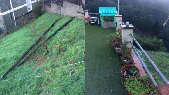 Veïns de les Planes reclamen solucions a Endesa pel manteniment de la línia elèctrica