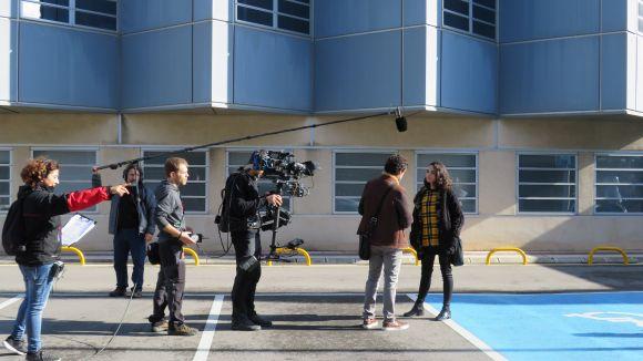 Les càmeres de la sèrie de TV3 'Com si fos ahir' tornen a Sant Cugat