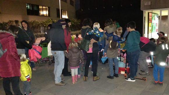 SOS Migdia es concentra contra el decret menjador
