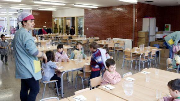 Suport unànime del ple a les AFA perquè mantinguin la gestió del menjador escolar