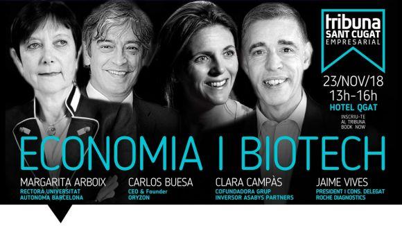 El Tribuna Sant Cugat Empresarial porta a debat l'economia i la biotecnologia