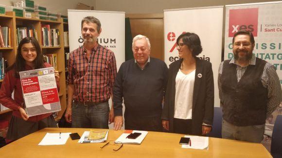 Els responsables de la iniciativa / Foto: Cugat.cat