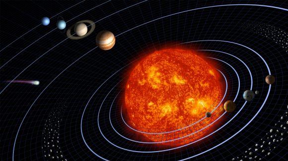 El Sistema Solar / Foto: Harman Smith i Laura Generosa