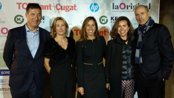 Els primers guardons Ade Vallès reconeixen Anna Gener com a Premi Honorífc