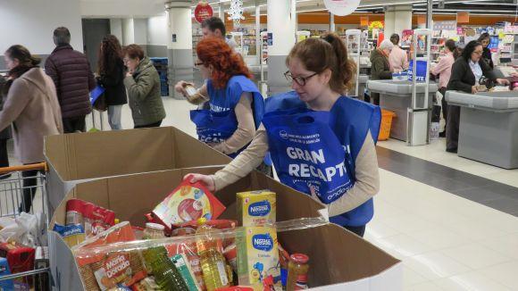 Ja et pots inscriure com a voluntari per al Gran Recapte del Banc d'Aliments