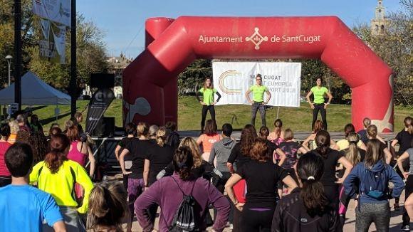 Els assistents han posat a prova la seva resistència física i el seus dots pel ball / Foto: Cugat.cat